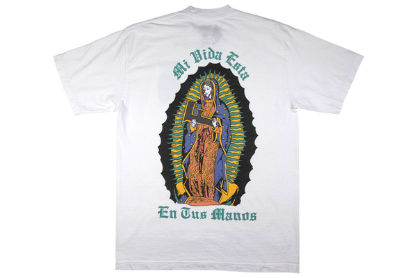 Image of Virgen de Guadalupe T-Shirt White