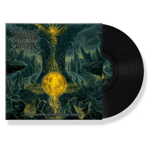 "Image of MOLESTED DIVINITY ""DESOLATED REALMS THROUGH INIQUITY"" VINYL"