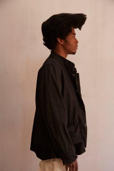 Image of Chinwest Jacket - Black £425.00
