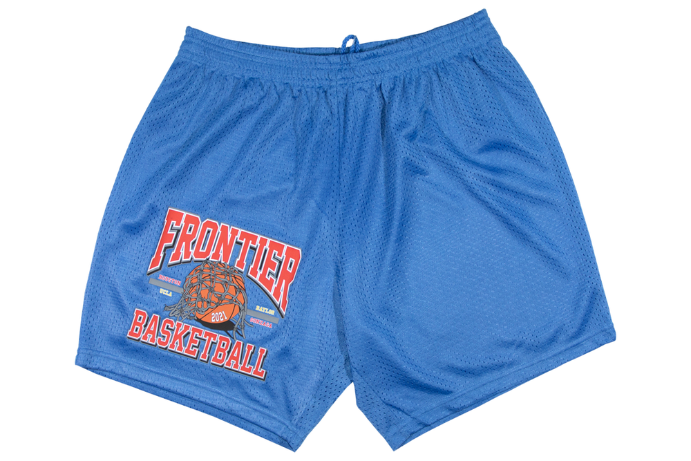Image of Frontier Basketball Shorts Blue