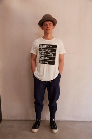 Image of Workhouse Summer Old White T-shirt - Logo £45.00