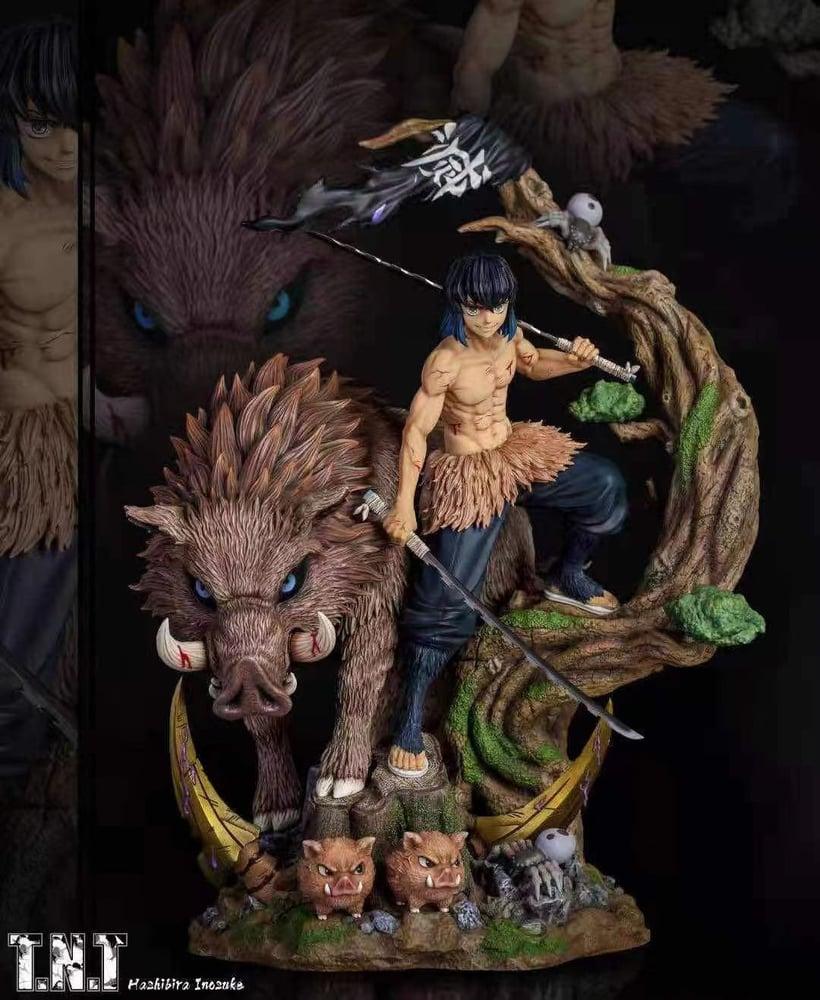 Image of [Hot Sale][Pre-Order]Demon Slayer TNT Studio Hashibira Inosuke  1:6 Resin Statue