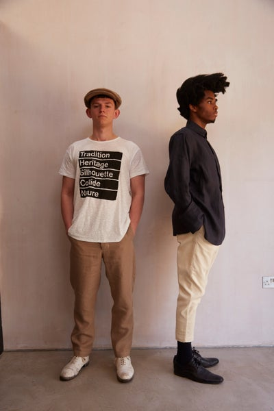 Image of Workhouse Summer Old White T-shirt - Logo
