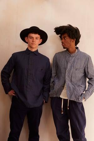 Image of Chinwest Jacket Blue £425.00