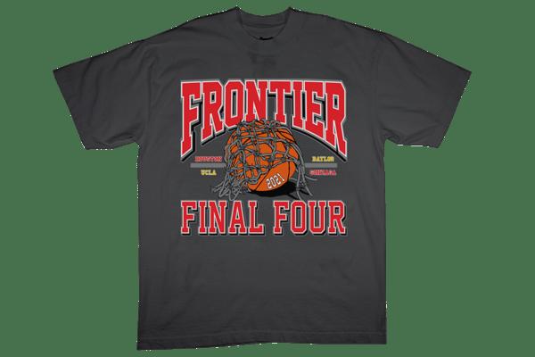 Image of Frontier Final Four T-Shirt Vintage Black