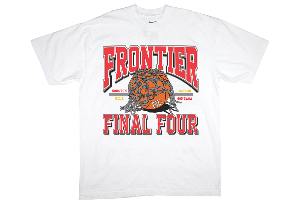 Image of Frontier Final Four T-Shirt White