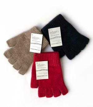 Image of Fingerless Gloves - Possum / Merino / Silk