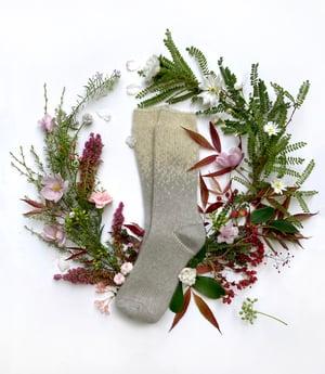 Image of Luxury Possum Adult Socks - Starry Nights