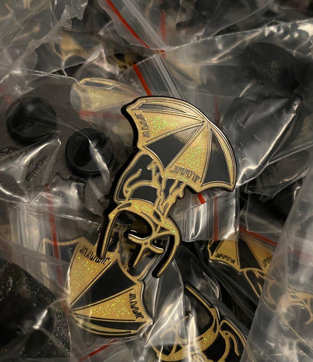 Image of 2nd Edition Umbrella Girl Pin