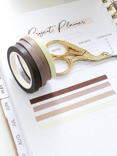 Image of Coffee Skinny Washi Tape Set