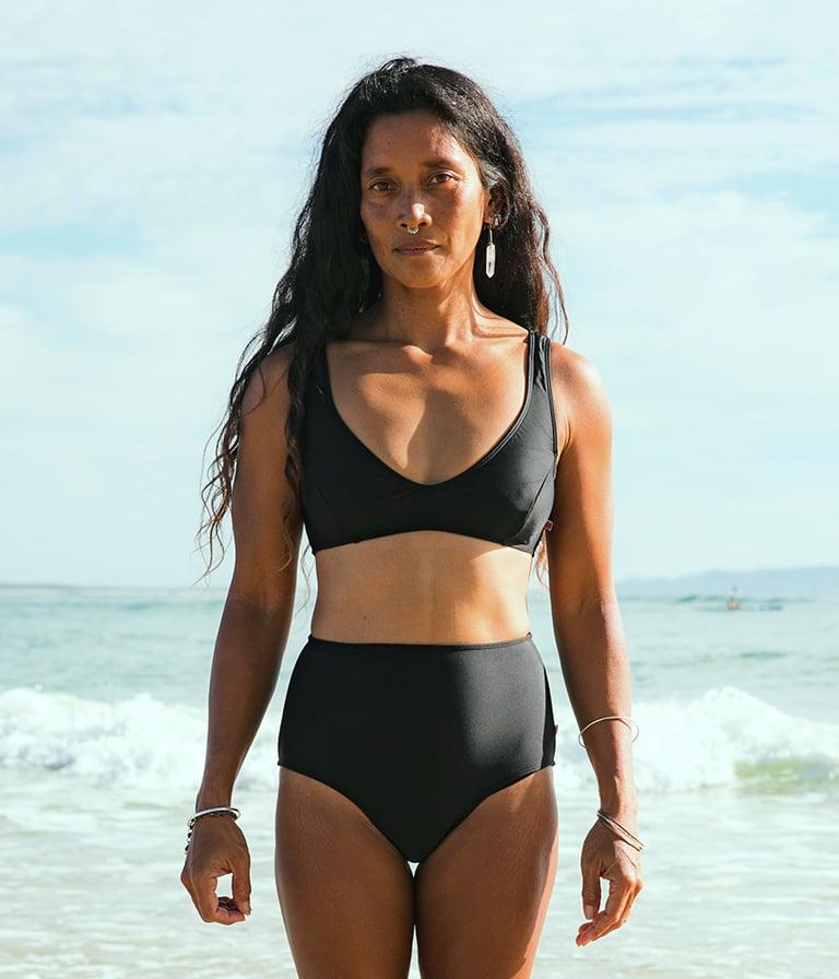 Image of Beach Top - Black