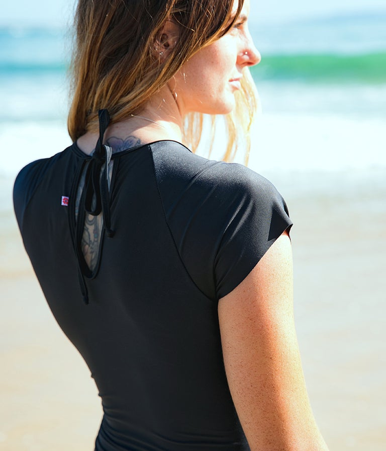 Image of Sunrise Surfsuit - Black or Print?