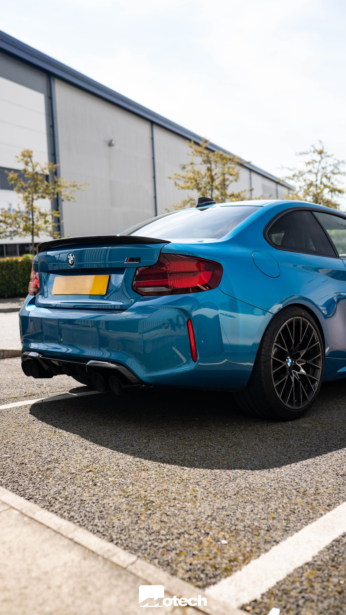 Image of BMW M2 Competition Remus Axle Back Exhaust (S55)