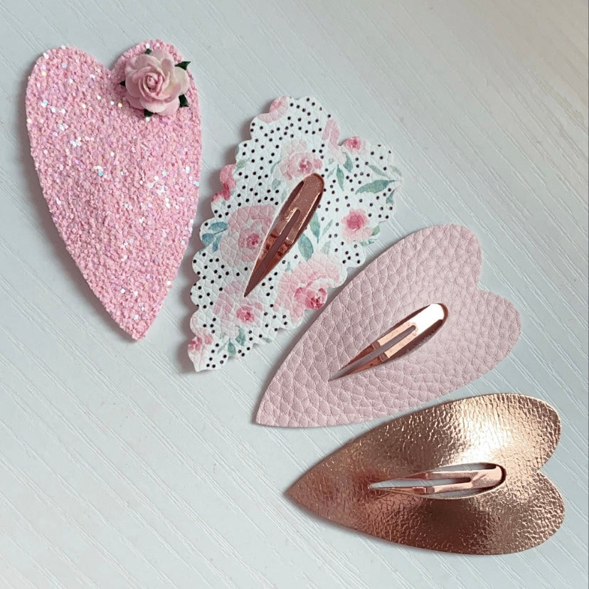 Image of LUXE BLUSH SNAP CLIPS