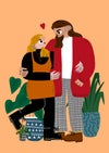 Custom Couples Portrait