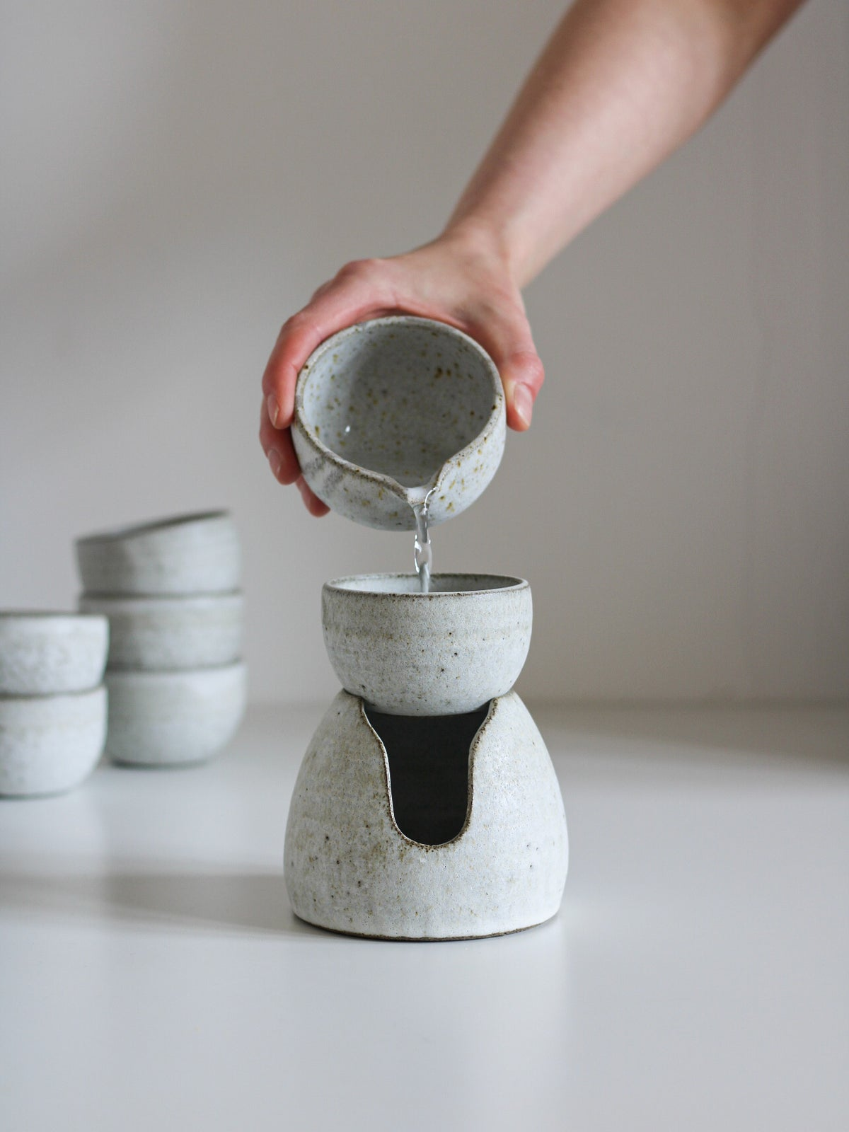 Image of oil burner/wax warmer (stone)