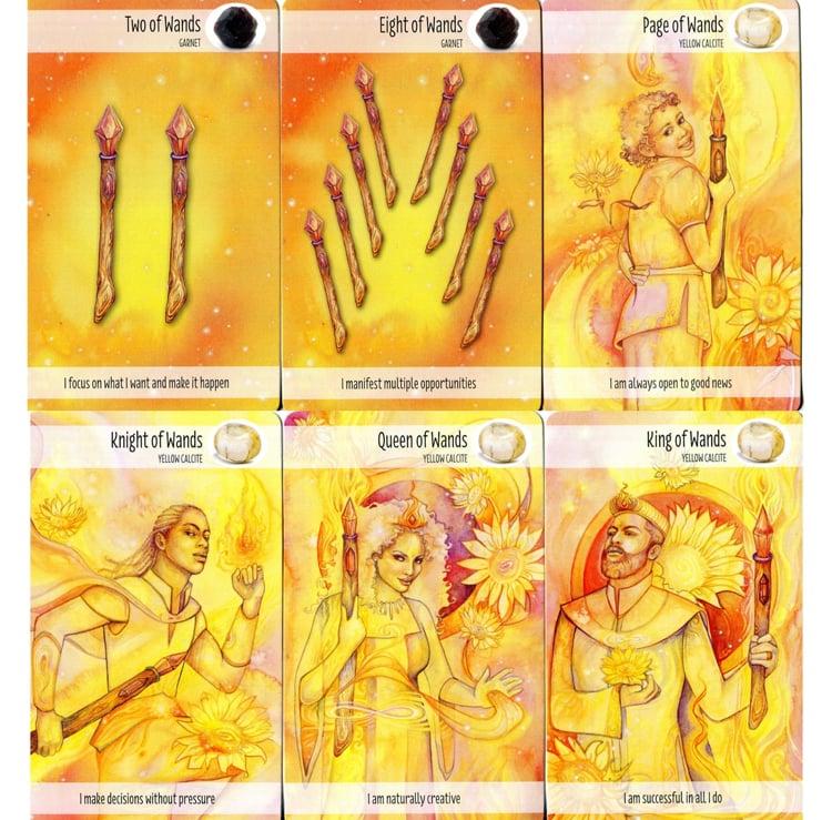 Image of The Crystal Power Tarot