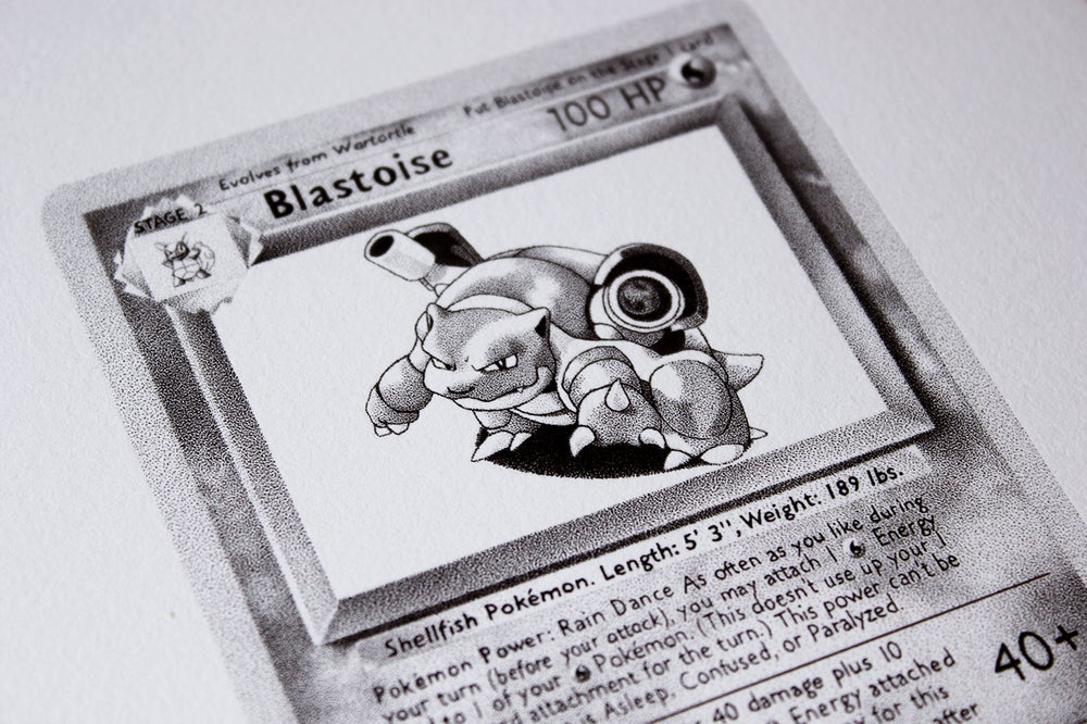 Image of Blastoise - Original