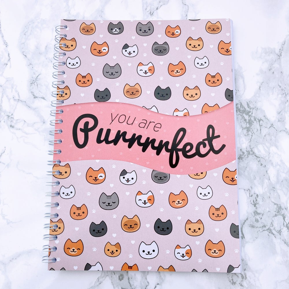 Image of 12 WEEK SPIRAL FOOD DIARY YOU ARE PURRRRFECT SLIMMING WORLD COMPATIBLE