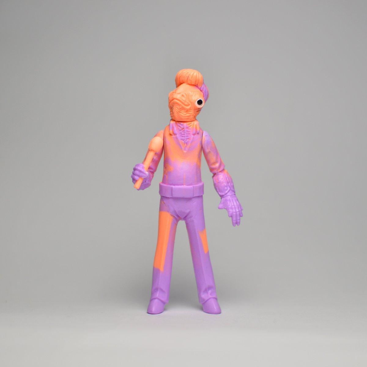 Image of ACKBAR - Colored resin (orange-violet)