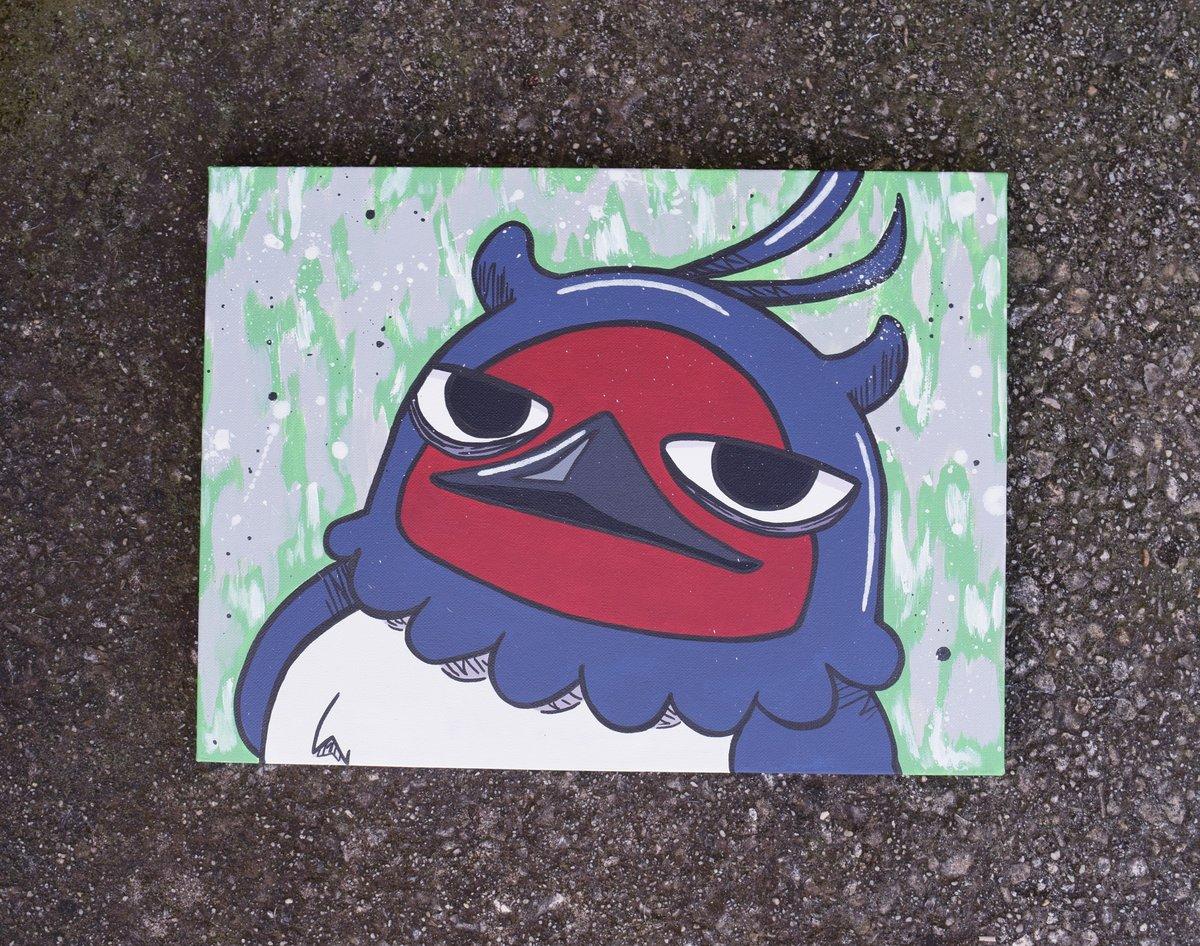 Image of Anti-bird named Nero