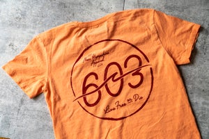 Image of 603 wave logo - Cantaloupe