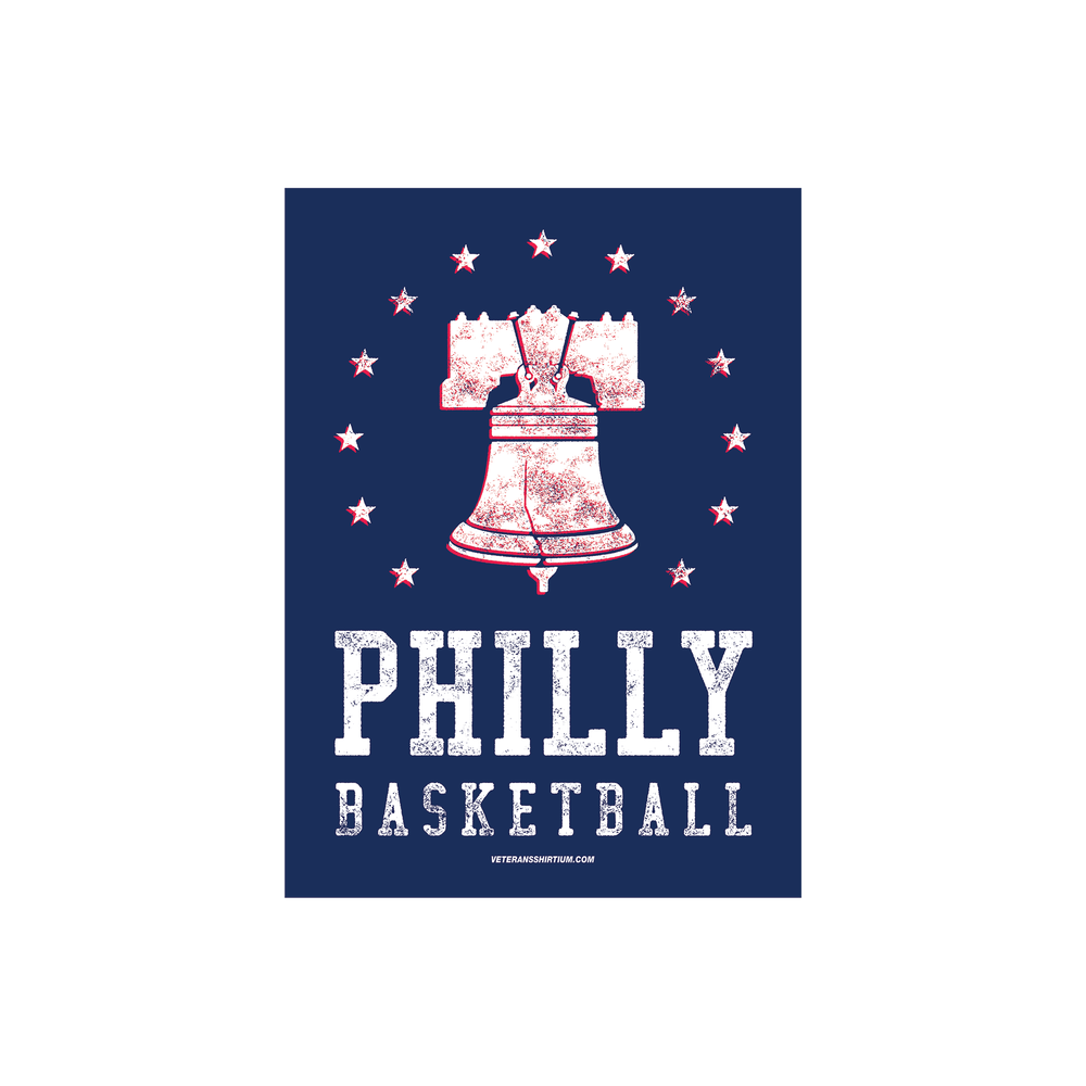 Image of Ring The Bell - Philly Basketball Sticker