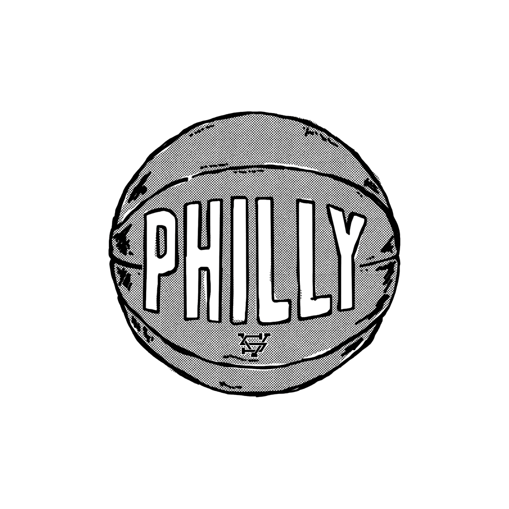 Image of Philly Basketball Sticker