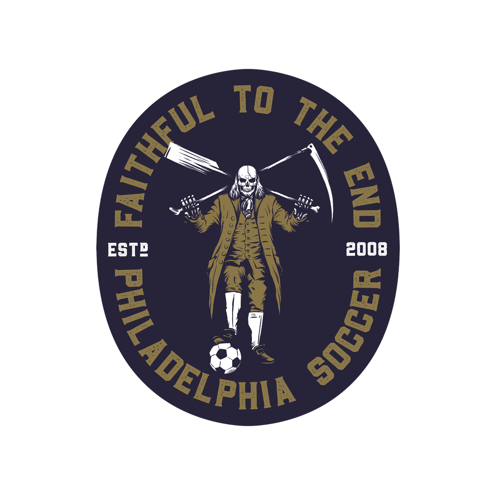 Image of Faithful To The End Sticker