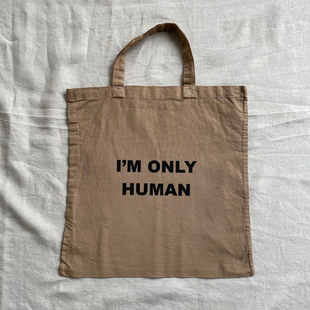 Human Square Bag in Clay