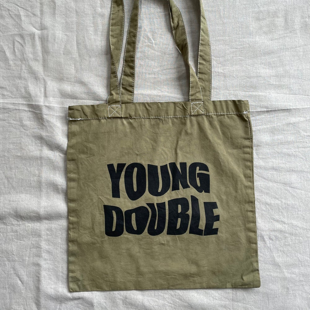 YD Long Handle Square Bag in Moss