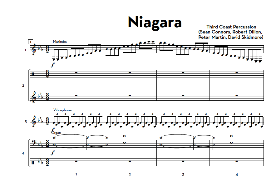 "Image of ""Niagara"" (from Paddle to the Sea) - Score and Parts"
