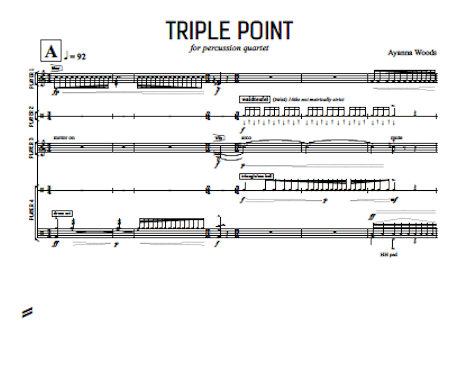 Image of Triple Point – Score and Parts