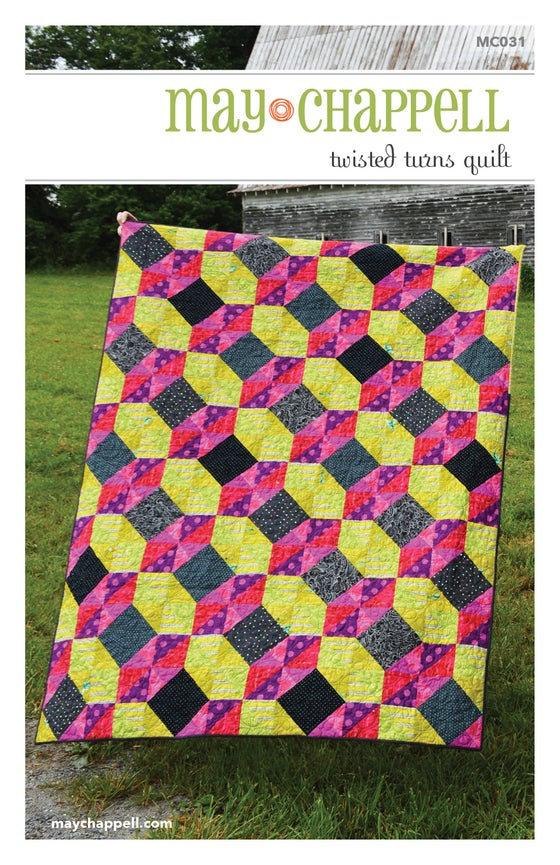 Image of Twisted Turns Quilt