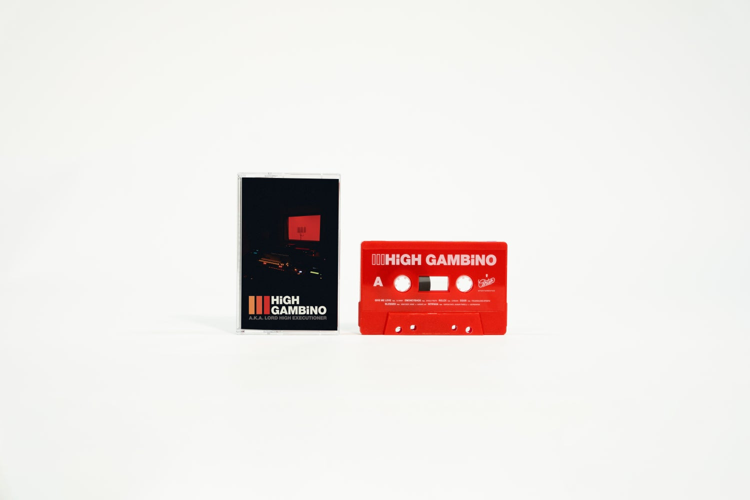 "Image of High Gambino III ""Red Cassette edition"""