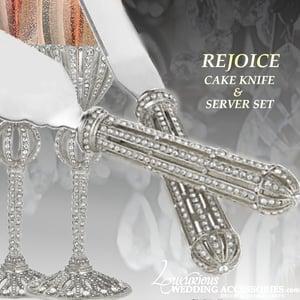 Image of Rejoice Silver Wedding Set