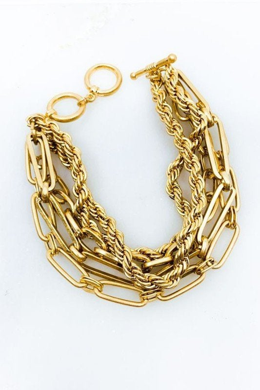 Image of Multi Chain Bracelet