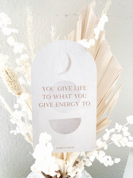 Image of Energy Journal Card