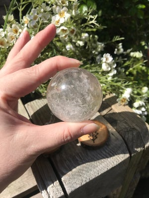 Image of Clear Sphere (1)