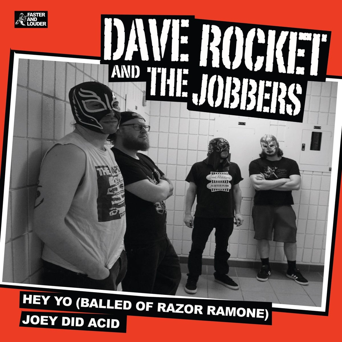 "Image of Follow Ups/Dave Rocket and the Jobbers Split 7"" ep"