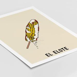 Image of El Elote Print