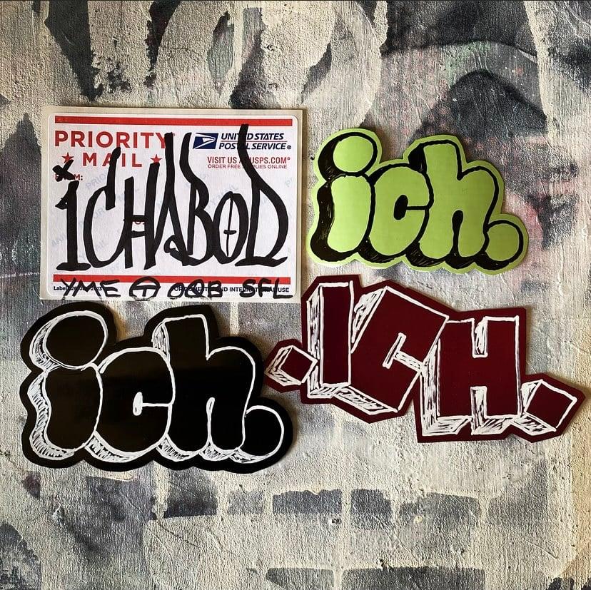 Image of ICHABOD STICKER PACK