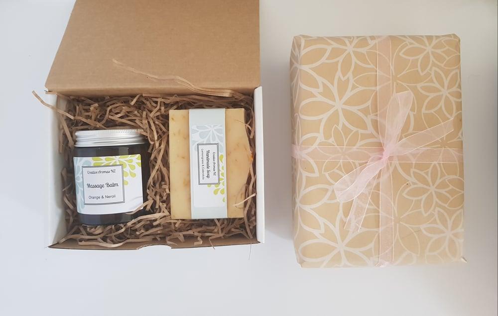 Image of Massage Balm & Soap Gift Set