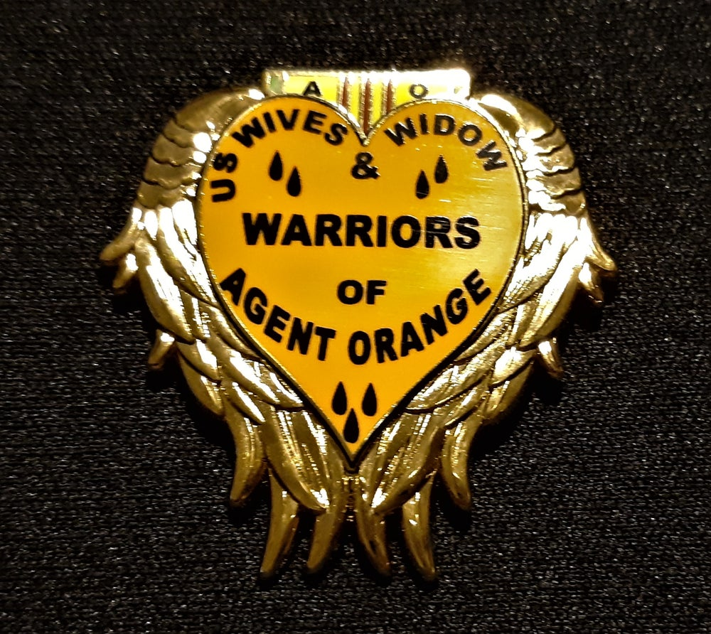Image of US Wives And Widow Warriors Of Agent Orange pin