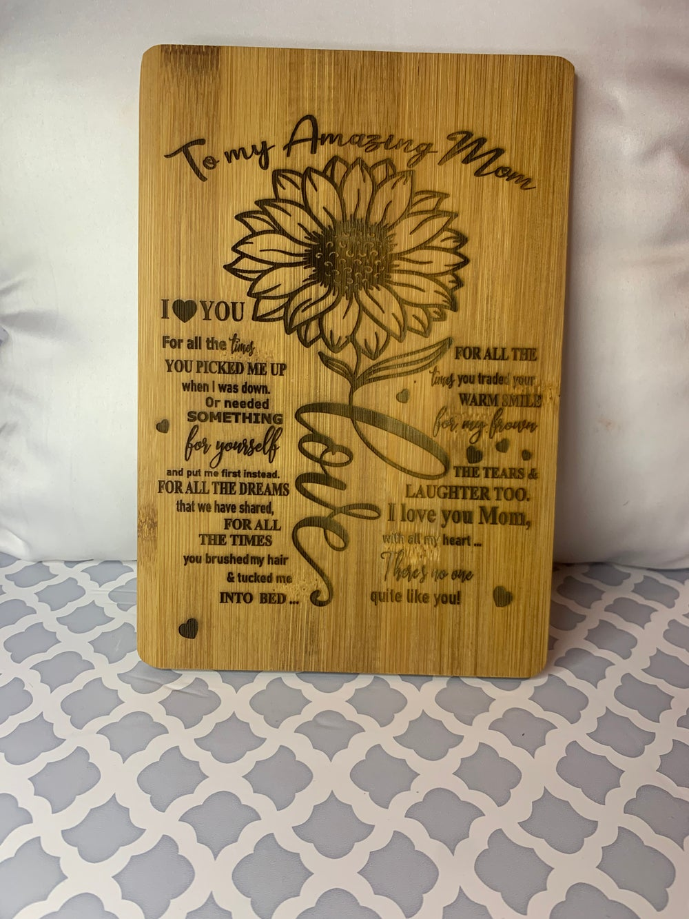 Image of Engraved words plaques