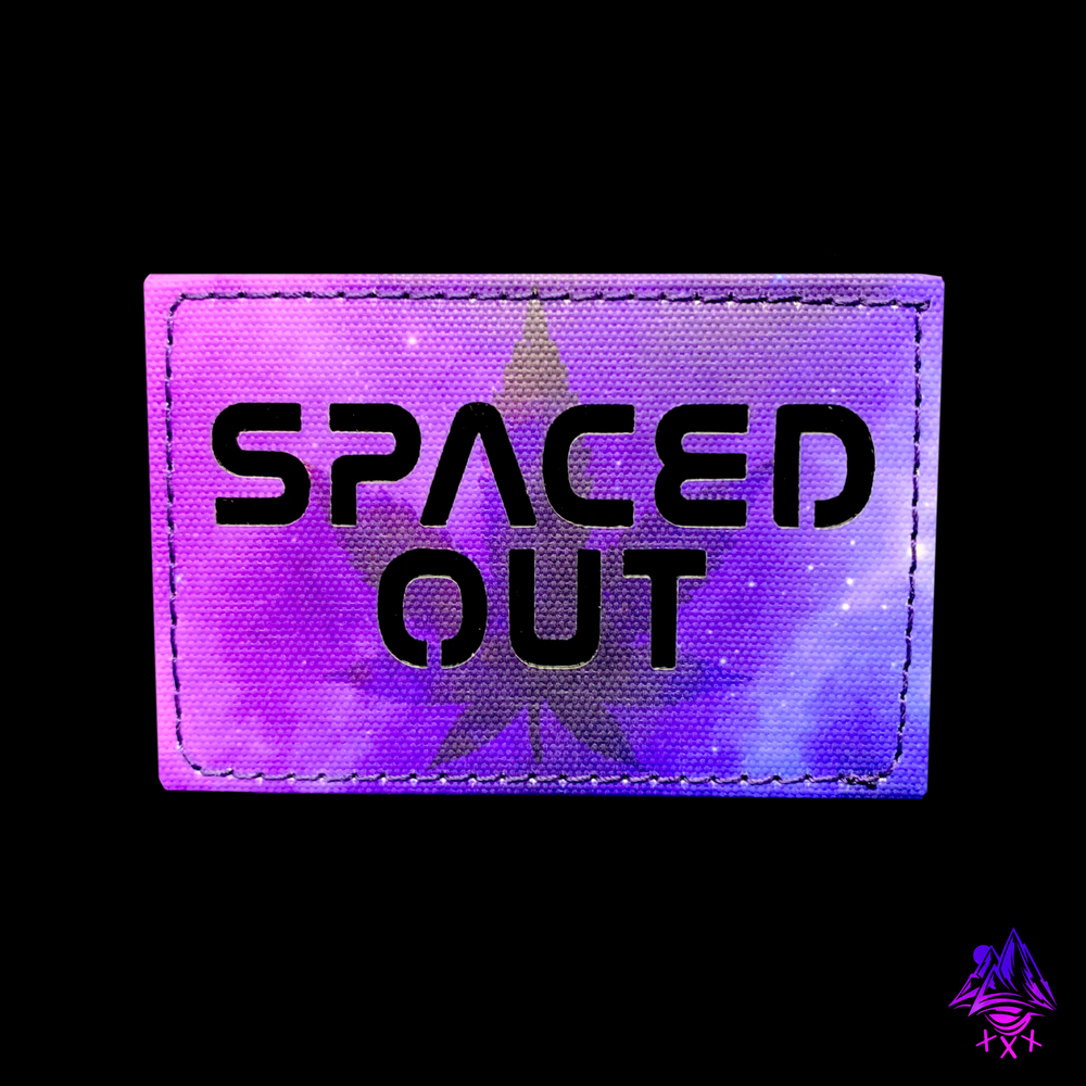 """Image of """"SPACED OUT"""" Laser Cut Patch"""