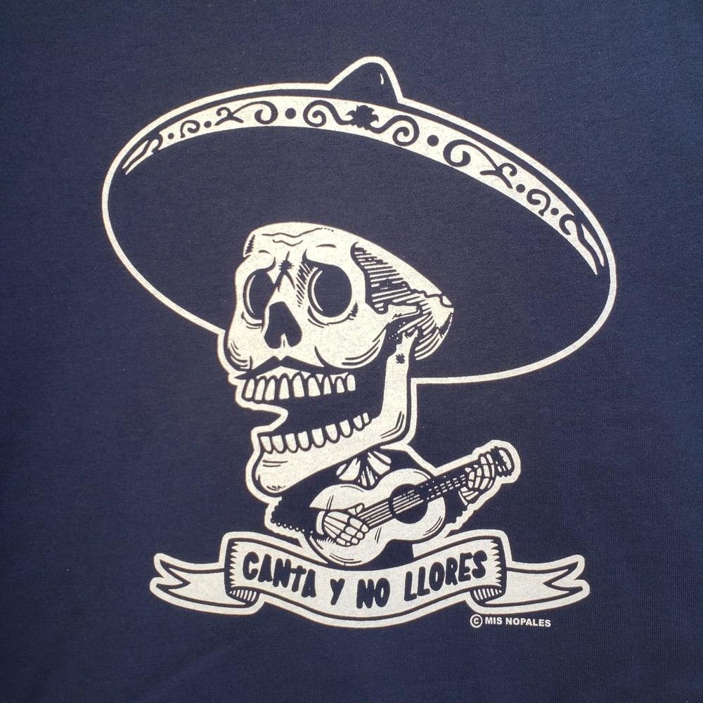 Canta y no Llores Youth NAVY T-Shirt S M