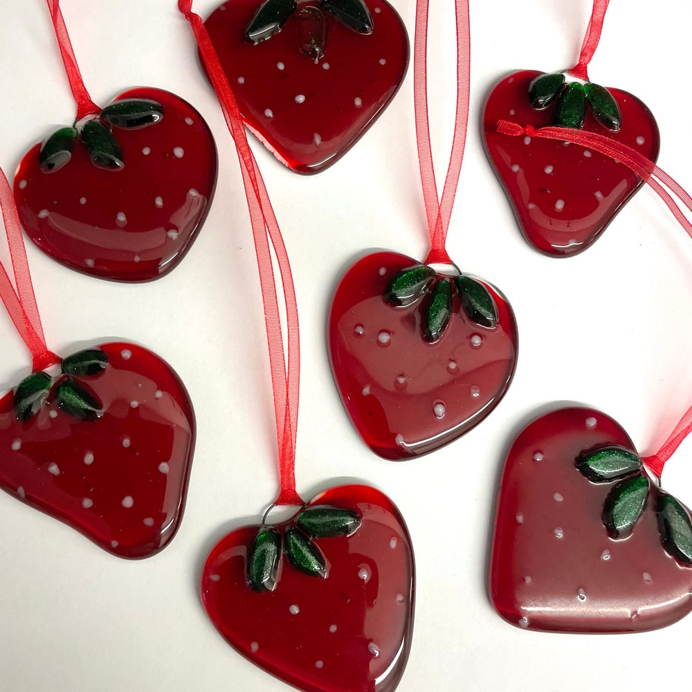 Image of Strawberry Suncatcher
