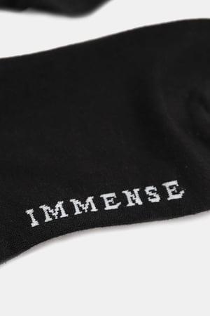 Image of IMMENSE - 膝下長筒襪 (黑)
