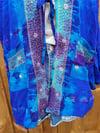 Blue seas jewelled hoodie